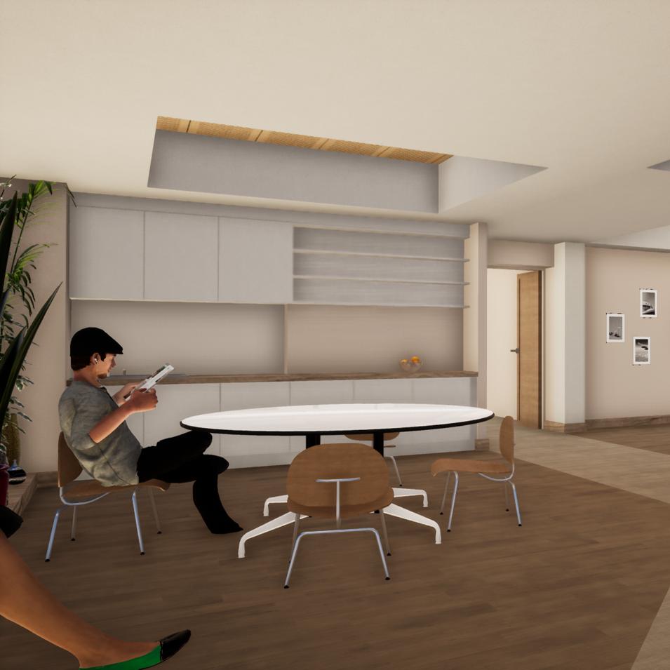Salon d'étage