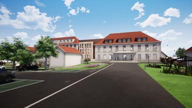 Restructuration et extension d'une maison de retraite à Saint-Pierre