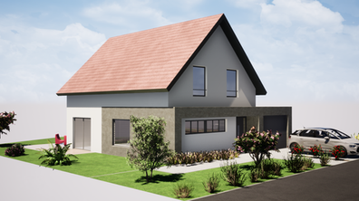 Construction d'une maison individuelle à Blaesheim