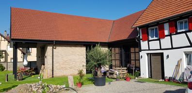 Transformation d'un corps de ferme à Truchtersheim