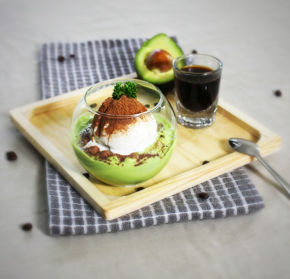 Avocado Affogato