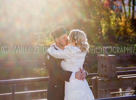 Julia et Kévin : un mariage sous le doux soleil d'automne