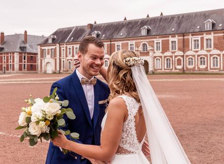 Lucie & Maxime: Un magnifique first look à la citadelle d'Arras