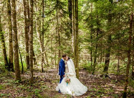 Sabrina & Aymeric: Un mariage dans les bois