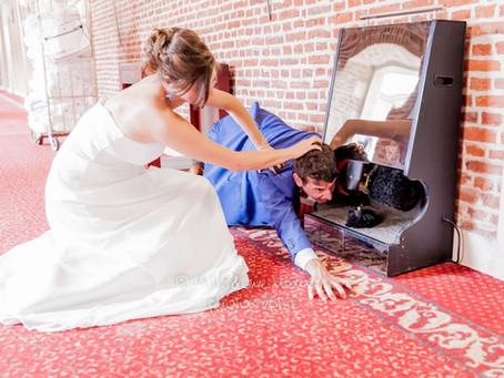 Le mariage provoque parfois des émotions inattendues...