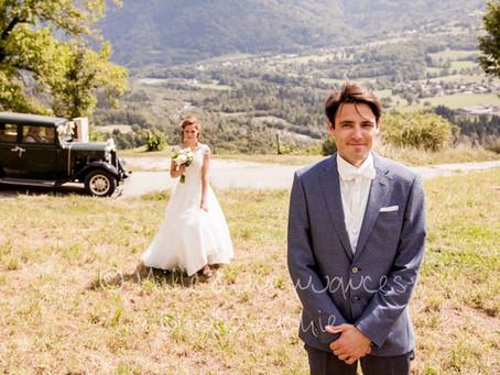 Mariage: Le magnifique First Look de Laurie et Réginald