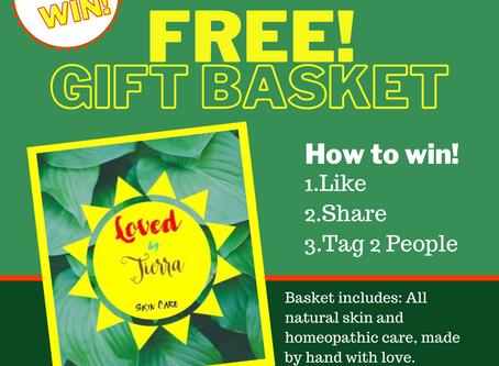 Win a Free Skin Care Gift Basket from www.LovedbyTierra.com