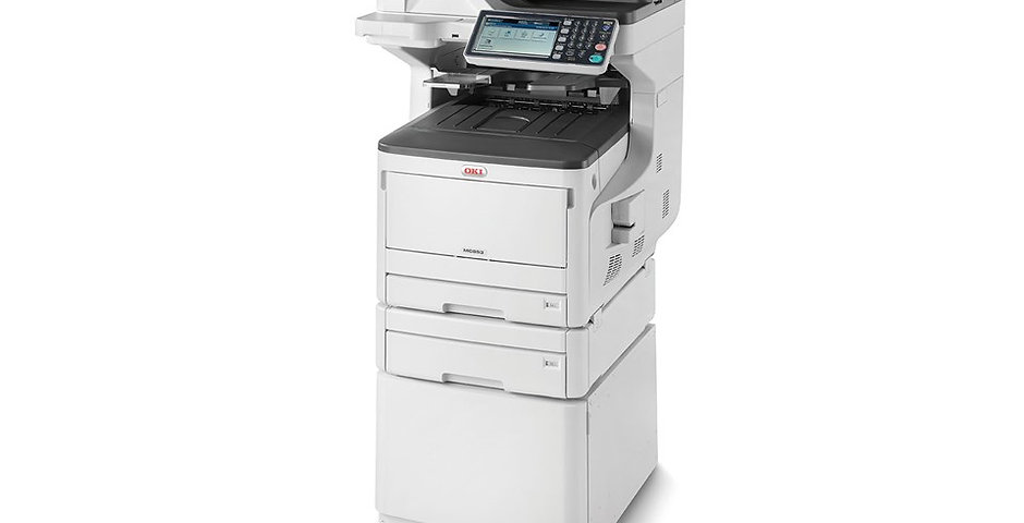 OKI MC853dnct - Color A3 MFP 7 inch touch 23/23 ppm Duplex Print/Copy/Scan/Fax