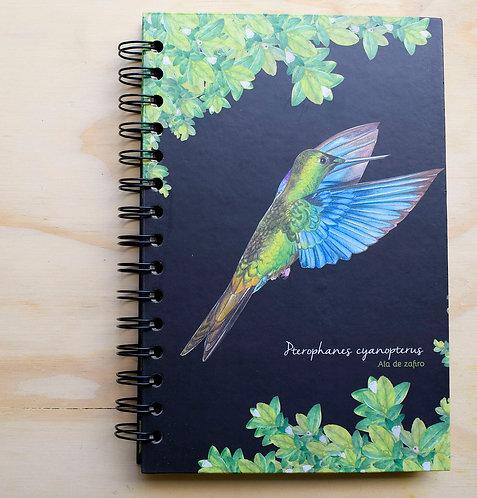 Aledesign + Cuaderno Alas de Zafiro