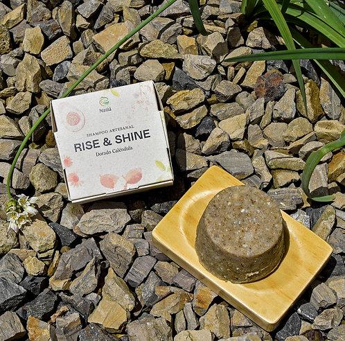 Natiu - Shampoo Rise & Shine Dorado Caléndula