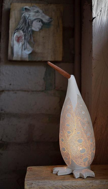 Tuttotumo - Lámpara de mesa garza con hojas