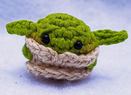 Seres de Lana + Starwars + mini Yoda