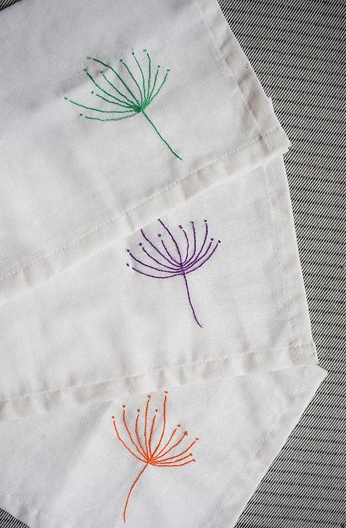 Dechado de Virtudes + servilletas tela rama