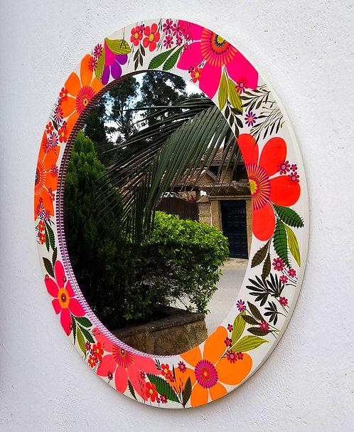 Lilaescarlata - Espejo Flores 65cm