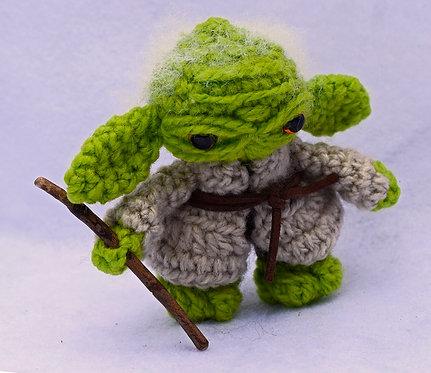 Seres de Lana + Starwars + Yoda