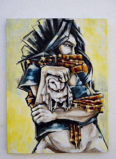 Feroz + Mujer lechuza