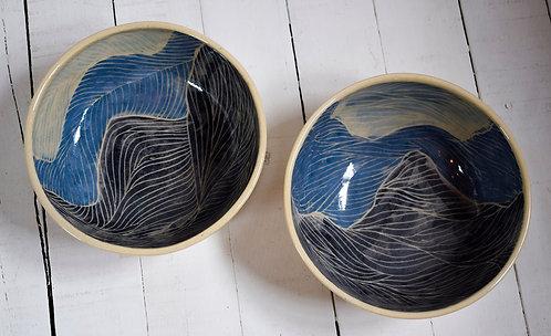 Dega Ceramista + plato montañas