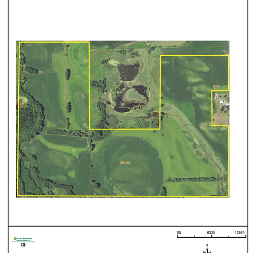 195 Acres in Butler County! ZONE 7.