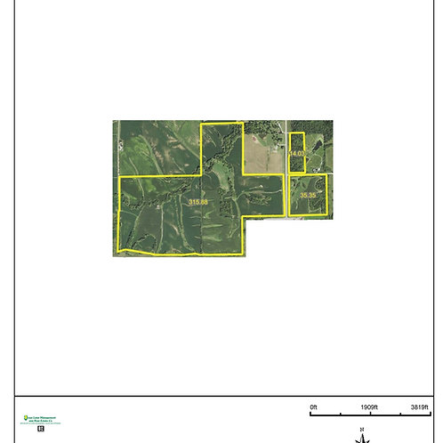 365 Acres in Poweshiek County. ZONE 7.