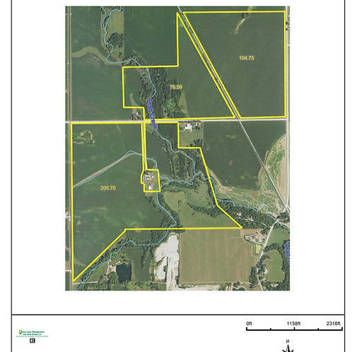 385 Acres in Benton County! ZONE 7.