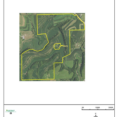 350 Acres in Dubuque County! ZONE 8.