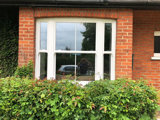 Replacement UPVC Vertical Sliding Windows