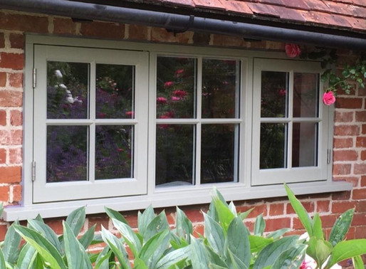 Bespoke timber windows installed to Grade 2 listed building