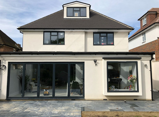 Bi-Fold Doors Star of the Show in Home Renovation