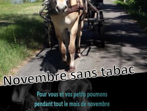 Novembre sans tabac