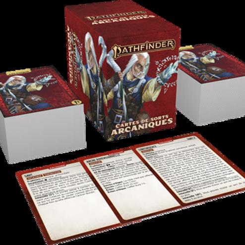 PATHFINDER 2 : CARTES DE SORTS ARCANIQUES