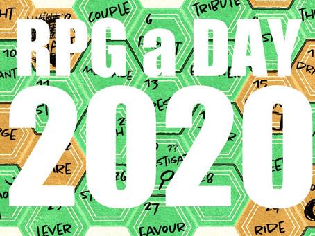 #RPGaDAY2020 Jour 1 : Le commencement.