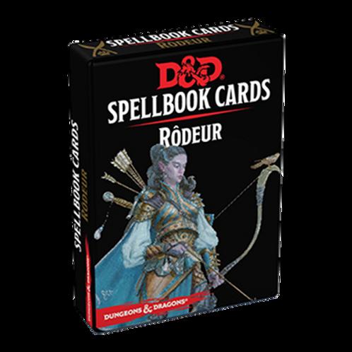D&D 5 : CARTES DE SORTS RODEUR