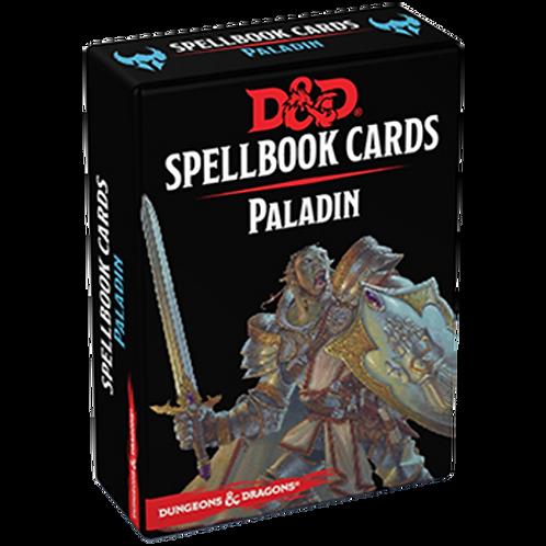 D&D 5 : CARTES DE SORTS PALADIN