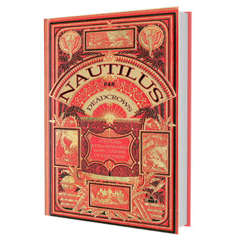 NAUTILUS : LIVRE DE BASE COUVERTURE HETZEL