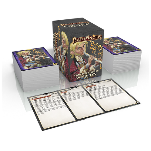 PATHFINDER 2 : CARTES DE SORTS OCCULTES