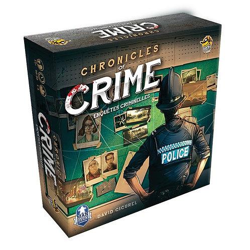 CHRONICLES OF CRIME - Enquêtes Criminelles le jeu de plateau