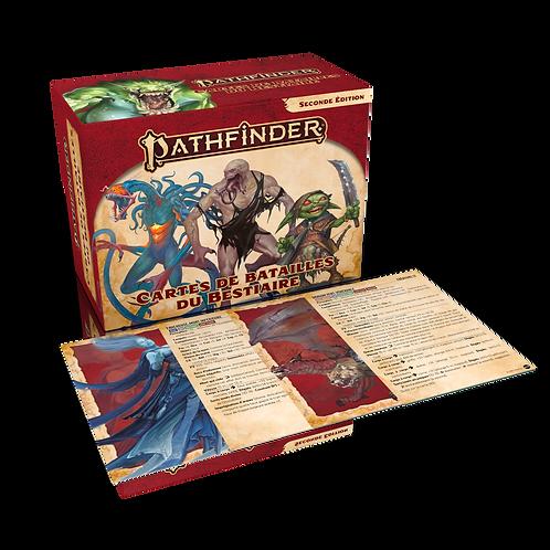 PATHFINDER 2 : CARTES DE BATAILLES DU BESTIAIRE