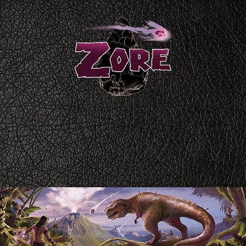 ZORE - Ecran du MJ et scénarios