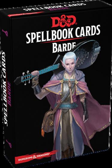 D&D 5 : CARTES DE SORTS BARDE