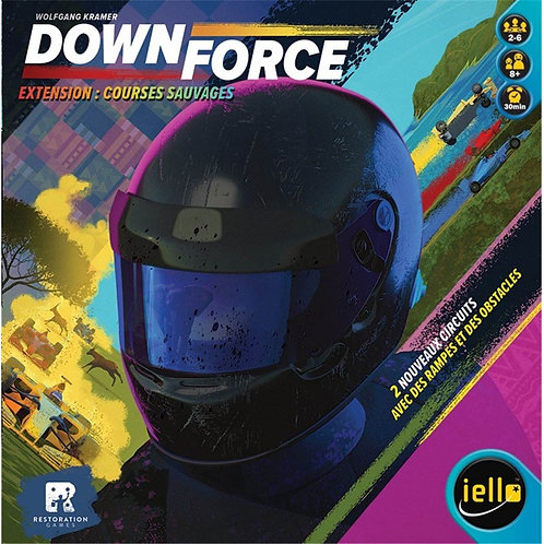 DOWNFORCE - COURSE SAUVAGE