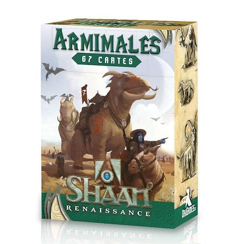 SHAAN CARTES ARMIMALES - Jeu de Rôle