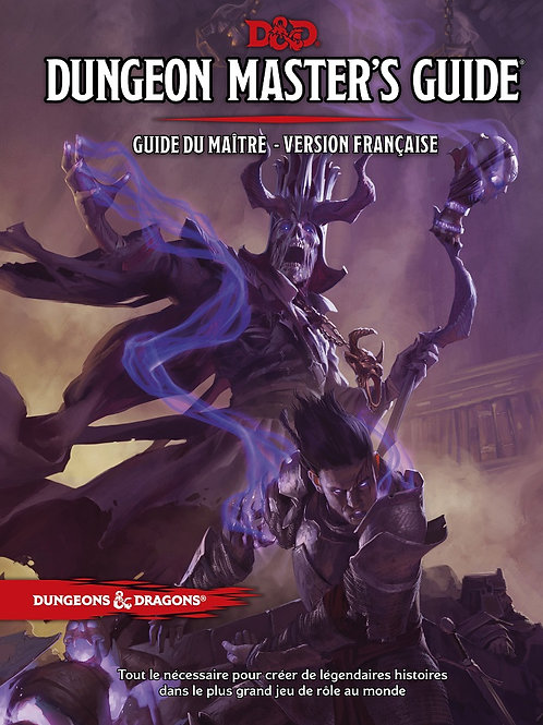 DUNGEONS & DRAGONS 5 : DUNGEON MASTER'S GUIDE