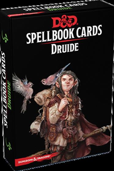 D&D 5 : CARTES DE SORTS DRUIDE
