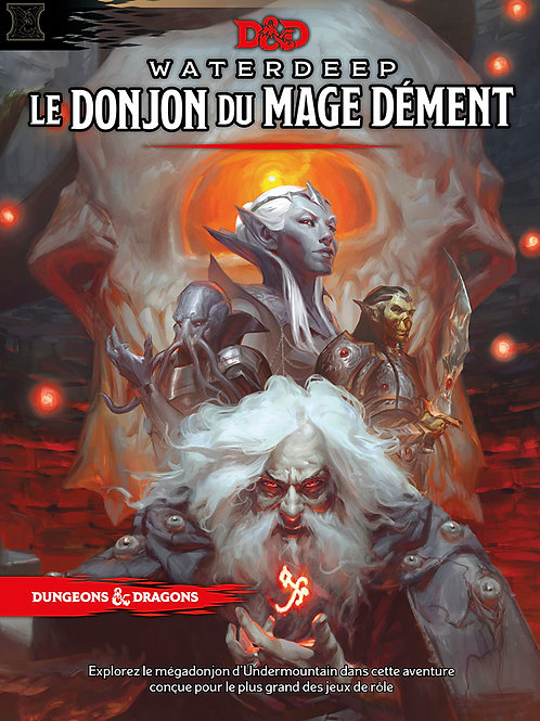 DUNGEONS & DRAGONS 5 : LE DONJON DU MAGE DÉMENT