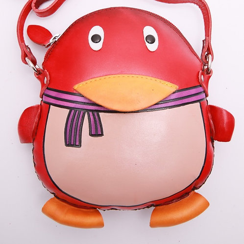 Red Penguin Bag
