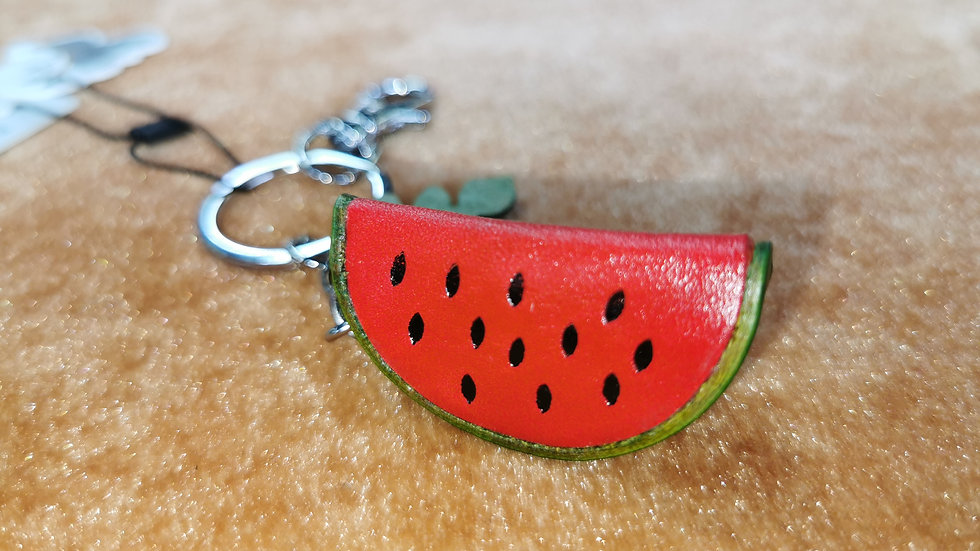 Watermelon keyring