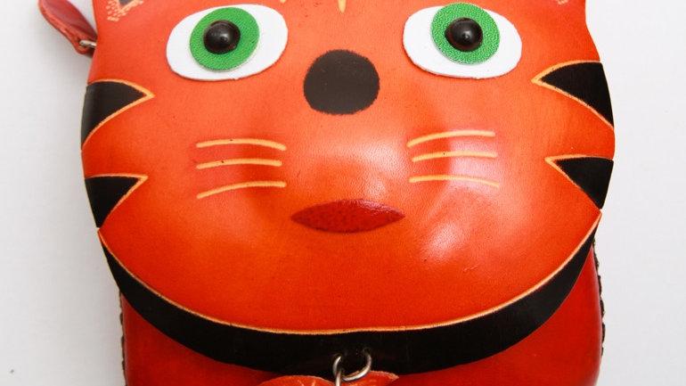 Short Fish Cat Bag