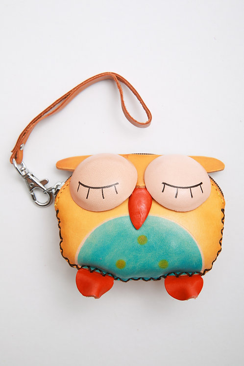 Owl Close Eye