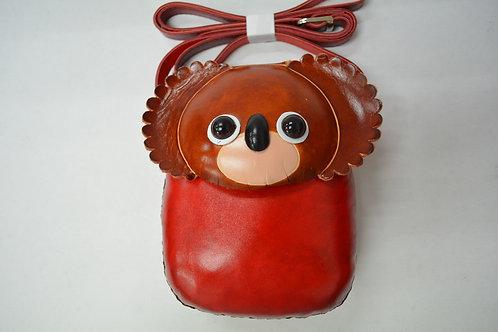 Long Red Koala Bag