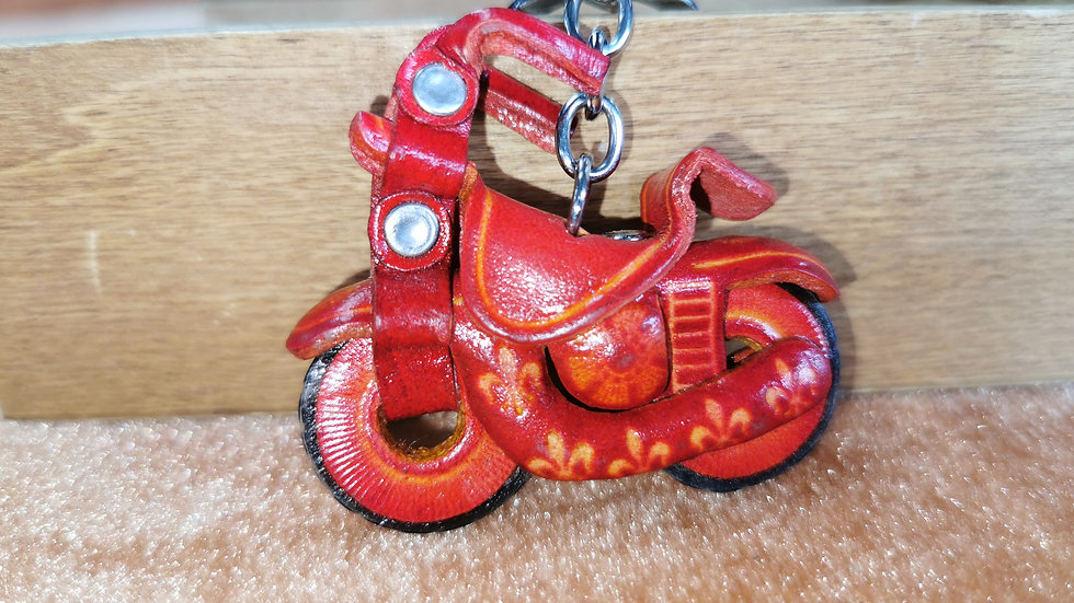 Motorcycle keyring